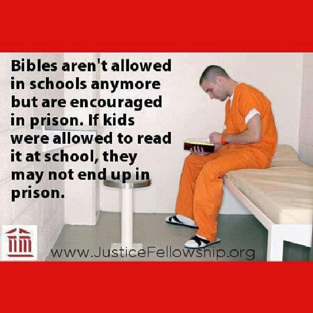 Bible out of school